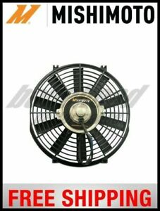 Mishimoto Performance Single Black 12 Slim Electric Radiator Cooling Fan