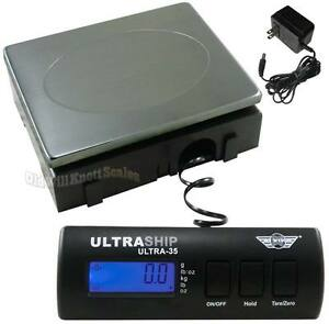 My Weigh Ultraship 35 Digital Scale ___ ac ss___ Postal Shipping Postage Bench