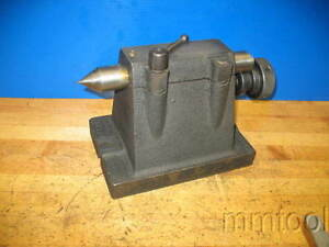 Dividing Head Foot Stock Tail Stock Indexer Approx 6 450 Center Height