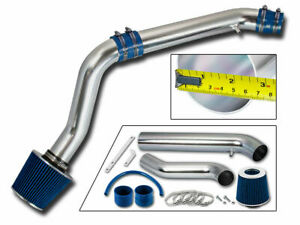 Cold Air Intake Kit Blue Filter For Honda 92 95 Civic 93 97 Del Sol 1 5l 1 6l