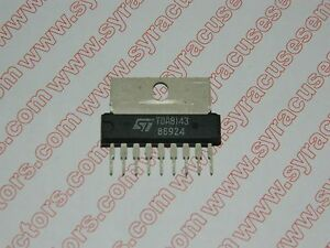 Tda8143 St Micro Integrated Circuit Lot Of 2 Pieces