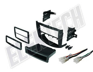 Radio Replacement Dash Mount Kit 1 Or 2 Din W Pocket Harness For Toyota Rav4