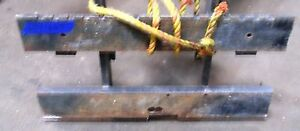 2391669 Clark Forklift Upright Mast Carriage Weld Class Iii 3 New 37 x20
