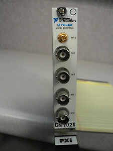 National Instruments Pxi 4462 24 Bit 204 8 Ks s Tested