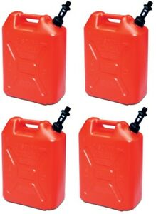 4 Scepter 05086 Rv520s 5 Gallon Us 20 Military Style Carb Compliant Gas Cans