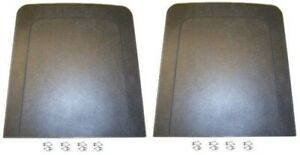 69 70 Mustang Seat Back Panels Pair Black