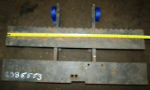 2385553 Clark Forklift Upright Mast Carriage Weld Class 2 Ii Used 41 x16 2 bar
