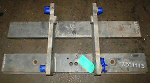 2394443 Clark Forklift Upright Mast Carriage Weld Class 3 Iii Used 49 x20 2 bar