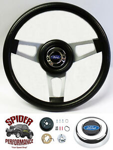 1970 1979 Ranchero Steering Wheel Blue Oval 13 3 4 Custom Steering Wheel