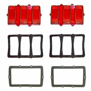 1969 Mustang Tail Light Kit Original Tooling Lenses
