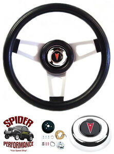 1964 1966 Gto Steering Wheel Pontiac 13 3 4 Silver Spoke