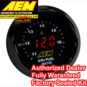 Aem 30 4110 Wideband O2 Uego Controller Air Fuel Ratio Gauge Kit Bosch 4 9 Lsu