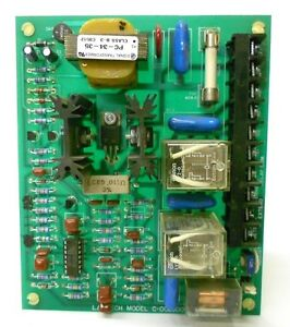 Lantech Relay Board Model c 002500 Caratron C10223b Approx 6 X 5 X 1 5 8
