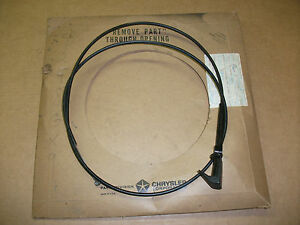 Nos 1971 1972 1973 Chrysler Imperial Vent Cable 4248gx9