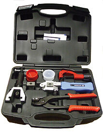 Sykes Pickavant 02729600 Flaremaster2 Hand Held Brake Pipe Flaring Tool Kit