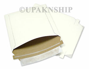 400 6x6 Rigid Photo Cd Disk Mailers Envelopes Recycled Packaging Supplies