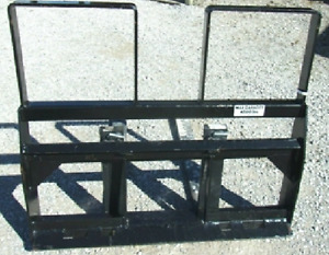 New Skid Steer Loader 48 Hd Pallet Forks Fit Bobcat