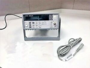 Agilent Hp Keysight 53181a Frequency Counter 225 Mhz 10 Digit sec W cal