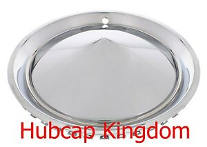 15 1957 Plymouth Style Hot Rod Custom Chrome Hubcaps Wheelcover