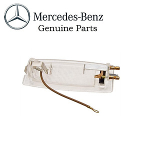 Mercedes R107 W114 Front Dome Light W Round Electric Pins Genuine 0008252301