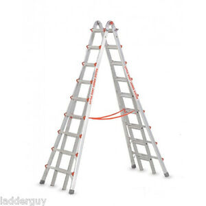 Little Giant 17 Skyscraper Mxz Stepladder Large Ladder 10110