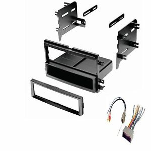 Ford Lincoln Mercury Dash Kit For Single Din Stereo Install Kit W Wire Harness