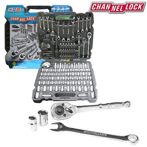 Channellock 171pc Mechanic S Tool Set Ratchet Wrench Auto Shop Tools Pro Grade