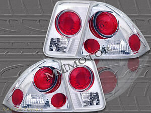 Fit For 2001 2002 2003 2004 Honda Civic Tail Lights 4 Doors 4d
