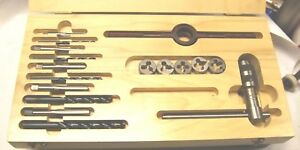 17 Piece Metric Tap Drill And Die Set f 3 1 2 142