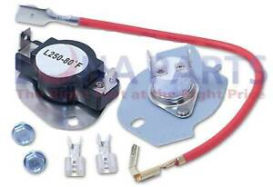 Thermostat Thermal Fuse Kit Fits Whirlpool Kenmore 3390291 3977393