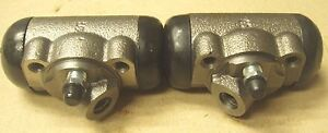 51 52 53 54 Chevy Pick Up Truck 3100 3200 Front Wheel Cylinders Pair