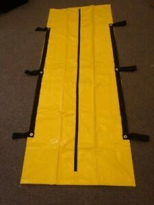 1 Body Bag Heavy Duty Industrial 7 Human Remain Disaster Dead Pouch Yellow