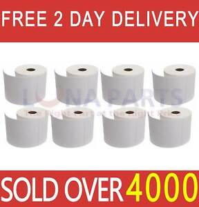 8 Rolls 4x6 Direct Thermal Shipping Labels 250 roll For Zebra 2844 Zp450 Eltron
