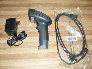 Metrologic Ms1690 Firstflash 2d Rs232 Db9 Dn079 Serial Barcode Scanner Excellent