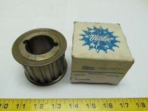 Martin Tl18h200 Timing Belt Pulley Sprocket 1 2 p 18t 2 w 1215 Taper Lock Hub