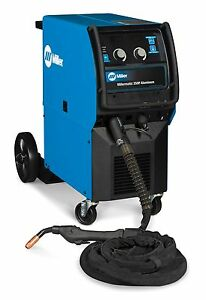 Miller Millermatic 350p Aluminum Mig Welder With 25 ft Xr aluma pro Gun 951452