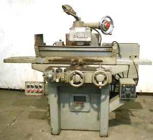 Doall Surface Grinder Model D6 1 6 X 18