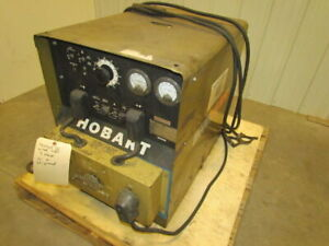 Hobart Mega arc 200 R 200 s Stick Welder 200amp 3ph With Leads