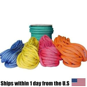 All Gear Arborist Tree Rigging Husky Bull Rope Double Braided 9 16x150 Yellow