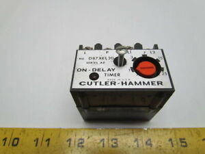 Eaton Cutler Hammer D87xel30 Solid State Timer Module On Delay