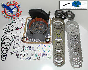 4l60e Rebuild Kit Heavy Duty Heg Master Kit Stage 4 1997 2000 With Turb Steels