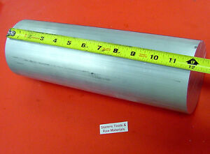 4 Aluminum 6061 Round Rod 12 Long T6511 Solid Lathe Bar Stock New 4 00 Od