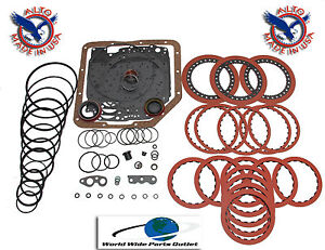 Th350 Th350c Transmission Rebuild Kit Performance Less Steel Kit Stage 1
