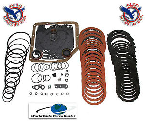 Th350 Th350c Transmission Rebuild Kit Performance Master Kit Stage 1