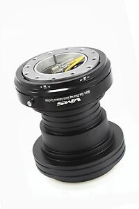Vms Racing 92 95 Honda Civic Steering Wheel Hub Quick Release Combo Black Body