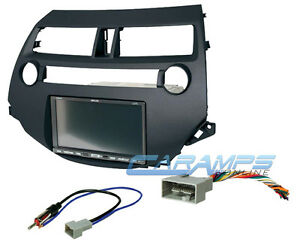 08 12 Accord Dark Gray Complete Car Stereo Cd Player Dash Installation Trim Kit