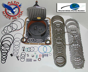 Th700r4 Rebuild Kit Heavy Duty Heg Master Kit Stage 3 W 3 4 Power Pack 1987 1993