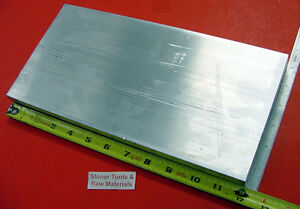 1 X 6 6061 Aluminum Flat Bar 12 Long T6511 1 00 Solid New Mill Stock