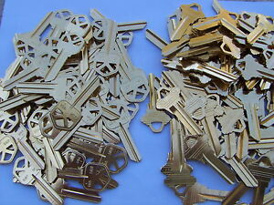 100 Key Blanks 50 Kw 1 And 50 Sc 1 Made In Usa 2 Nd Set Free Shipping