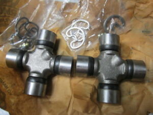 53 54 55 56 57 58 Ford Pick Up Truck F100 Universal Joint U Joints Pair